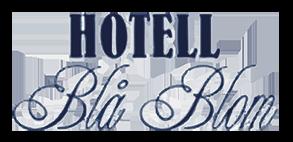 Hotell Blå Blom Logotyp